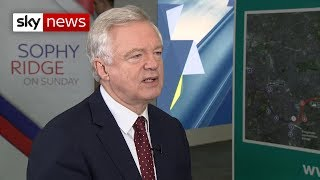 David Davis warns of 'very scary' few months ahead of Brexit