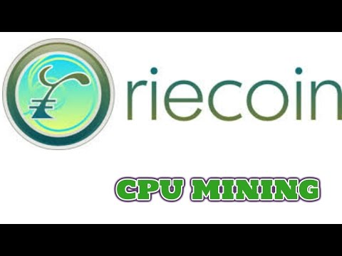 how to mine riecoin