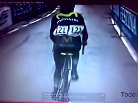 Nairo Quintana Ganador Etapa 16 Giro de Italia 2014 Mayo 27