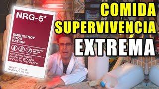 PROBANDO COMIDA DE SUPERVIVENCIA EXTREMA NRG-5