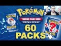 Opening 60 Random Digital Pokemon Trading Card Game Packs
