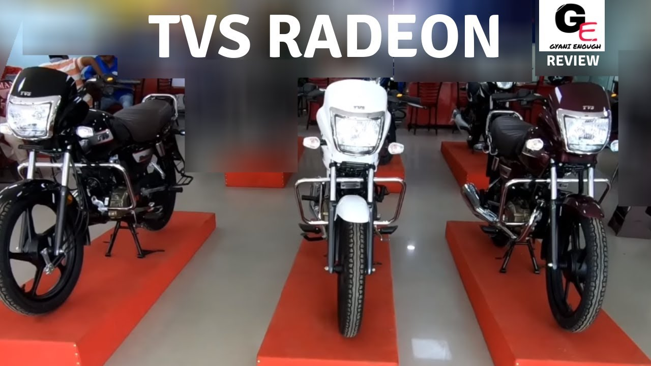 Tvs Radeon Detailed Review 3 Colours In 1 Engine Sound