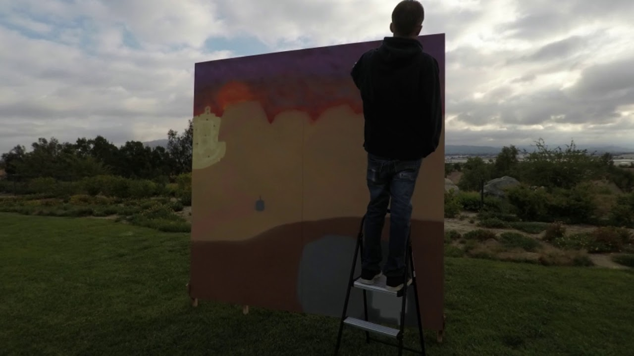 Easter Painting 2019 time lapse