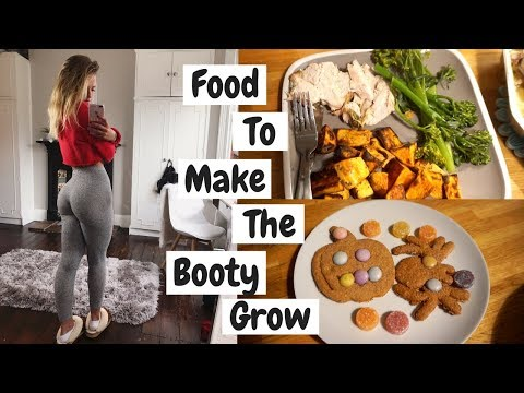 WHAT I EAT ON LEG DAY TO HELP MY BUM GROW | Vlog