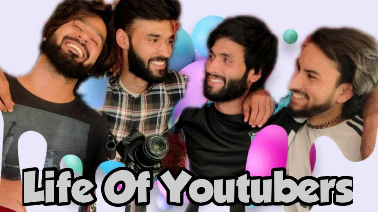 Life Of Youtubers  Funny Video By Funny Kashmir  