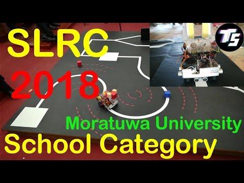 SLRC 2019 Robotic Competition At University Of Moratuwa