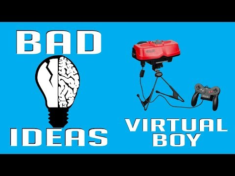 The Virtual Boy - Stare into the red abyss - Bad Ideas #21