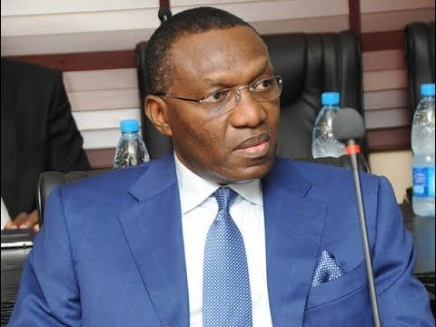 SEN. ANDY UBA ROLLS OUT THE DRUMS... -DMItv