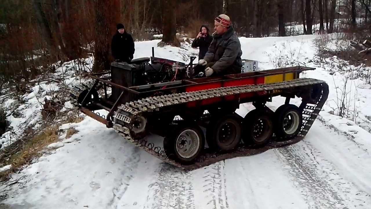 Гусеница к снегоболотоходу