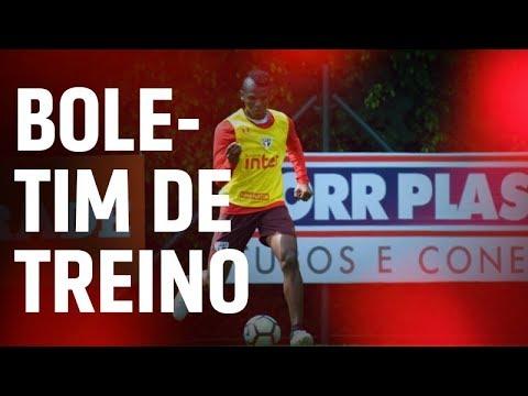 BOLETIM DE TREINO + ARBOLEDA: 23.08 | SPFCTV