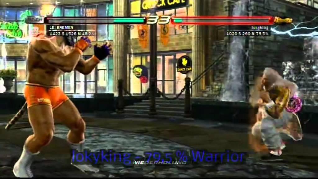 Tekken 6 Revenger Lei Vs Diverse High Ranks Part 3 Youtube