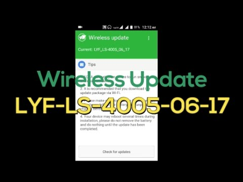 Lyf Flame 6 Wireless Update LS-4005-06-17  Play Store Stop Working!!! Root gone!!!