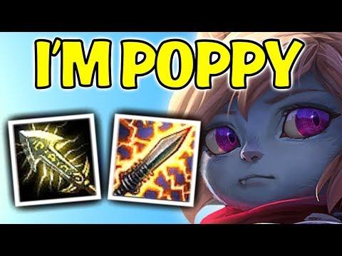 I'M POPPY! | STUNDAN ÇIKARMAYAN FULL AD URF POPPY !! CHALLENGER URF OYNARSA ! | KFCEatbox
