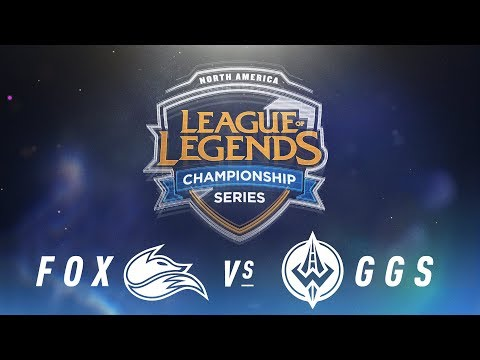FOX vs. GGS - Week 4 Day 1 | NA LCS Spring Split |  Echo Fox vs. Golden Guardians (2018)