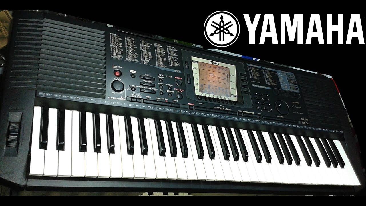 YAMAHA PSR 530 MIDI DRIVER DOWNLOAD FREE