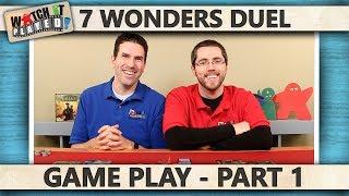 7 Wonders Duel - Game Play 1