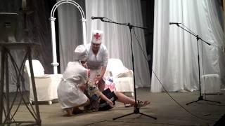 Шуточные сценки врачей на День медицинского работника в Октябрьске Прикол :)