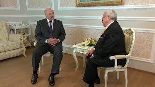 Лукашенко дал интервью ТАСС