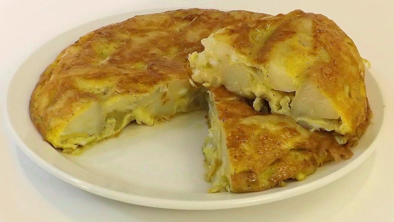 Tortilla De Papa Con Huevo Estilo Nonna Pepina Youtube