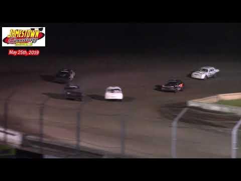 Jamestown Speedway WISSOTA Street Stock A-Main (5/25/19)
