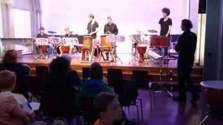 "percussion-groove-ensemble münchen - ""african moods"" (jörg franke)"