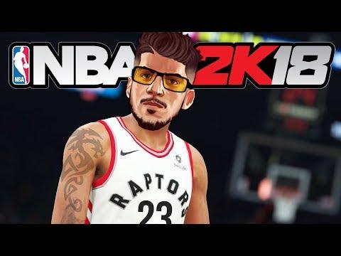NBA 2K18 My Career - 1ST NBA GAME!! (NBA 2K18 Gameplay PS4 Pro)