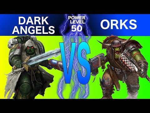 Warhammer 40K 8th Edition Live Battle Report: Orks Vs. Dark Angels