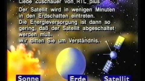 RTL plus Abschaltung.Satellit