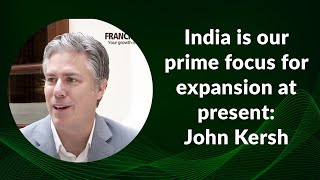India is our prime focus for expansion