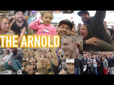 WATCH IF YOU DIDN'T GO TO THE ARNOLD SPORTS FESTIVAL