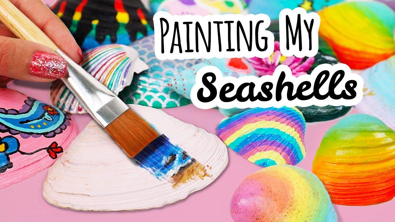 I M Decorating Seashells Now