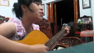Tình yêu màu nắng - demo guitar cover by Xumi