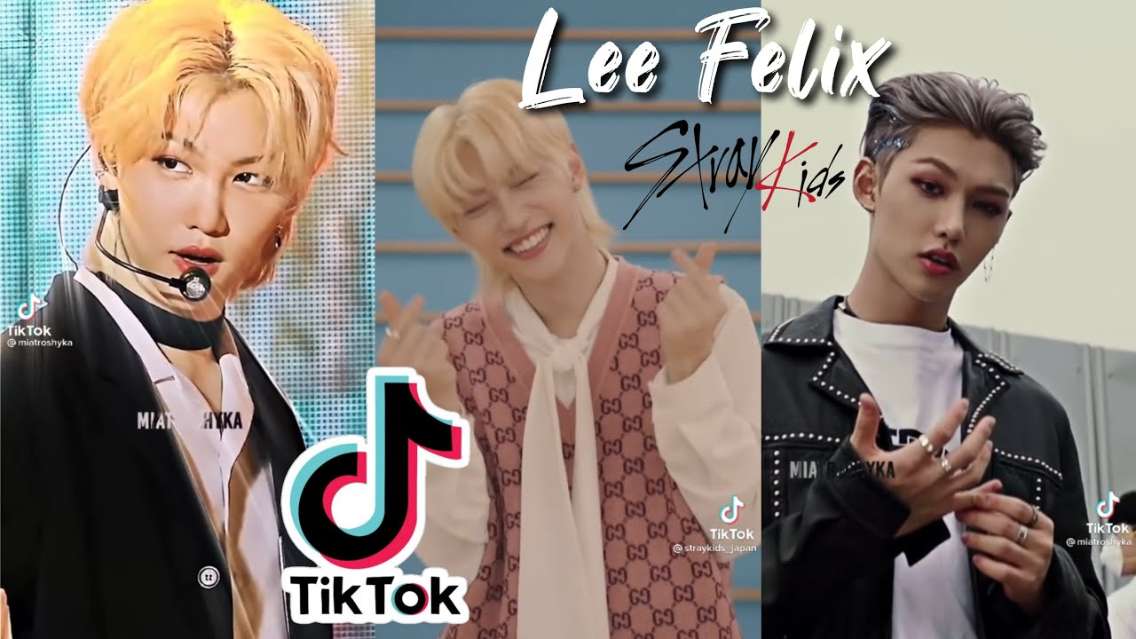 Felix Lee Felix Stray Kids 40 Tiktok Compilation Tiktok Edit Youtube
