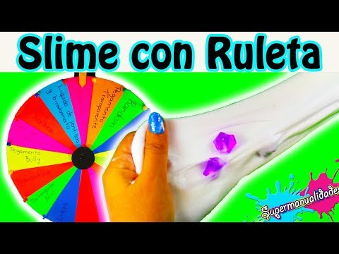 Double slime roulette ( random ingredients and challenges ) / Supermanualidades