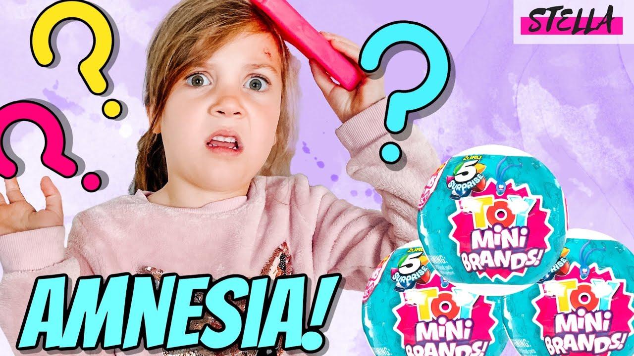 Stella Gets Amnesia!!! (Feat Mini Brands)