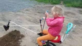 видео: Детский экскаватор своими руками