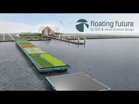 Floating Food Farm - Healthy food accessible to all. Create work and experiences