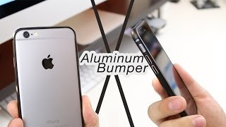 iPhone 6/6s Aluminum Bumper Case