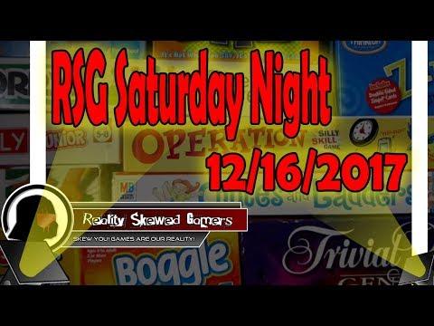 RSG Saturday Night - 12/16/2017 | Star Wars: Galaxy of Heroes #swgoh