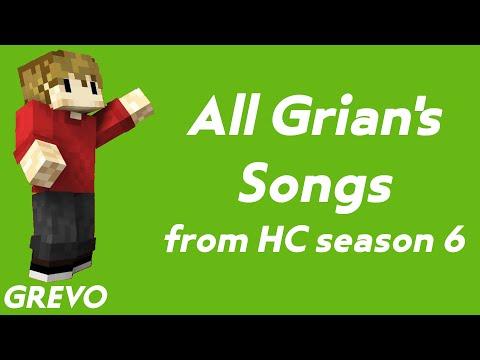HermitCraft Season 6 Grian's Songs Compilation [HD]