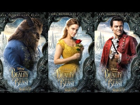 Disney Beauty and the Beast Live Action Posters | Beauty and the Beast Posters