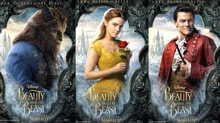 NEW Disney Beauty and the Beast Live Action Posters | Beauty and the Beast Trailer Posters