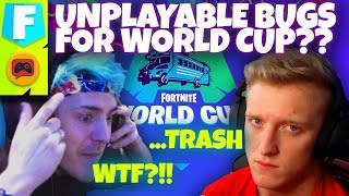 Is Fortnite Really Ready for World Cup? Tfue and Ninja Probably Don't Think So