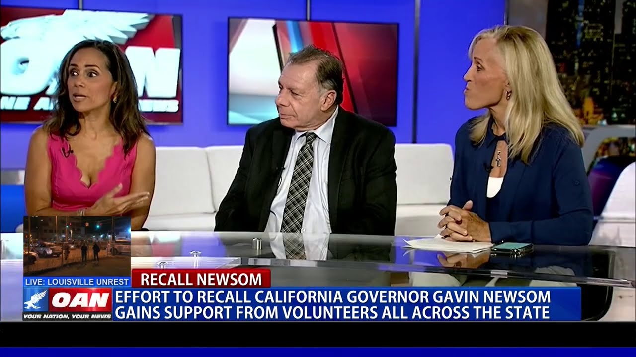 Effort to recall Calif. Gov. Gavin Newsom gains support from volunteers all across the state