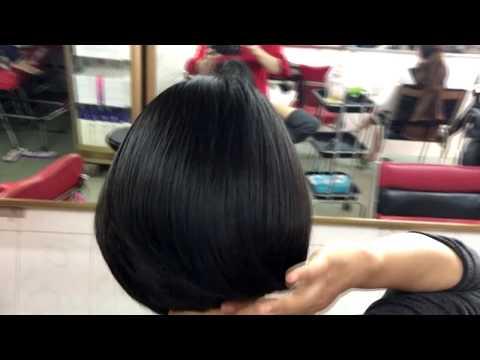 Short hair cutting for women