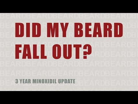 3 Years After Minoxidil — Did My Beard Fall Out?