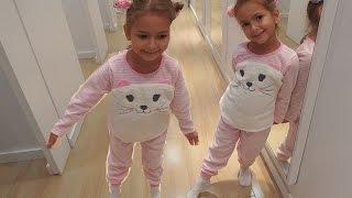Elife pijama alıyoruz, beğenmek kolay değil, Alışveriş eğlenceli çocuk videosu