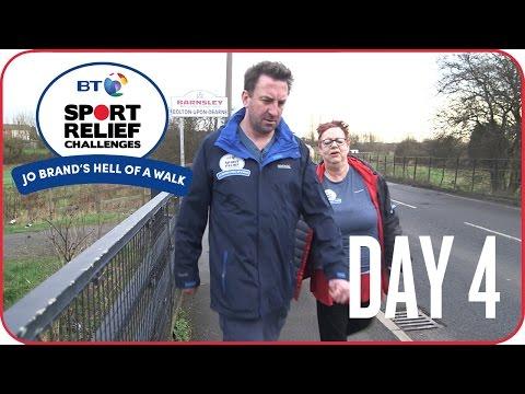 Jo Brand's Hell of a Walk   Day 4 - Lee Mack
