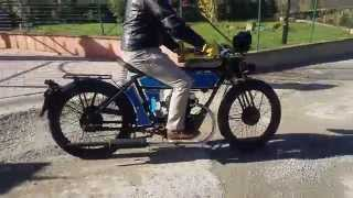 Black Douglas Sterling Autocycle test