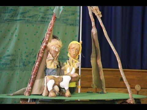 """""""Jaś i łodyga fasoli"""" Teatru Lalek w Polskiej Szkole w Mahwah, NJ"""